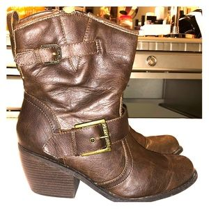 G by Guess Elektra Boots - Brown - Size 10